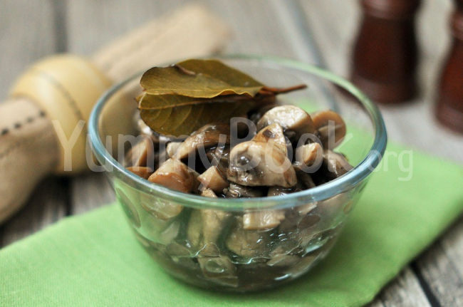 Marinated Champignon Mushrooms