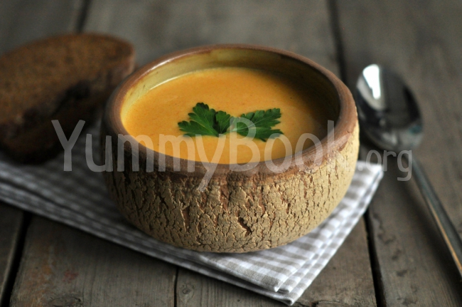 Carrot Cream-soup