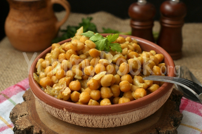 Chickpeas and Beans with Curry