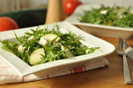 Green Salad with Dorblu