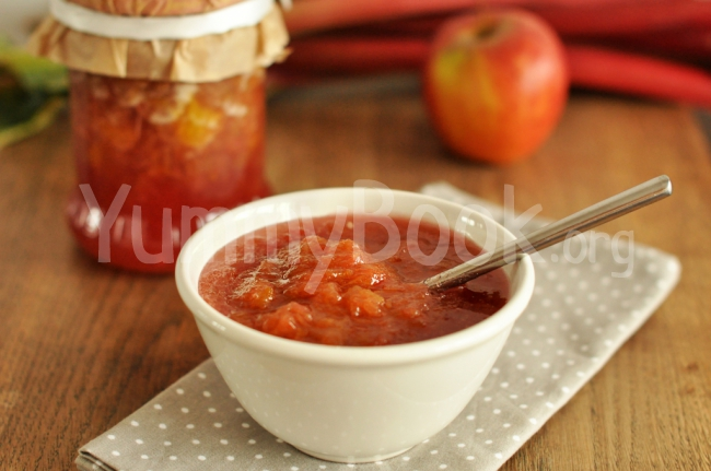 Rhubarb Jam with Orange