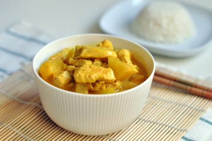 Pineapple Chicken Curry