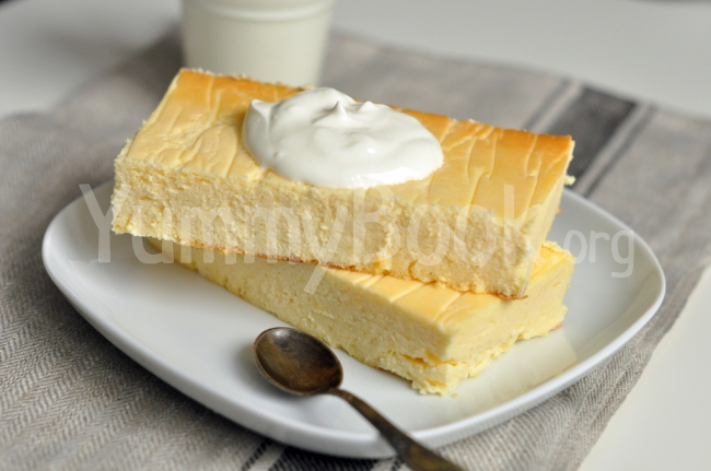 Traditional Polish Cheesecake (Polski Sernik)